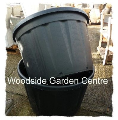 Extra Large Plastic Pot 230 Ltr Black Woodside Garden Centre Pots To Inspire Entrances Pinterest And