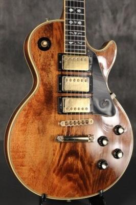 1976 Gibson Les Paul Custom ARTISAN w/hearts + flowers inlay