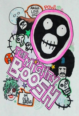 The Mighty Boosh, camp TV comedy show, art.
