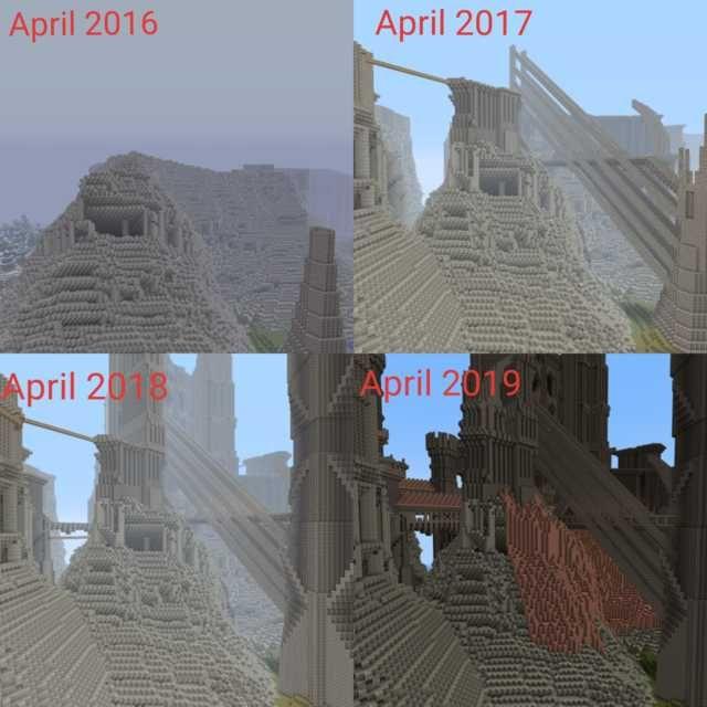 Minecraft Blueprints, Minecraft