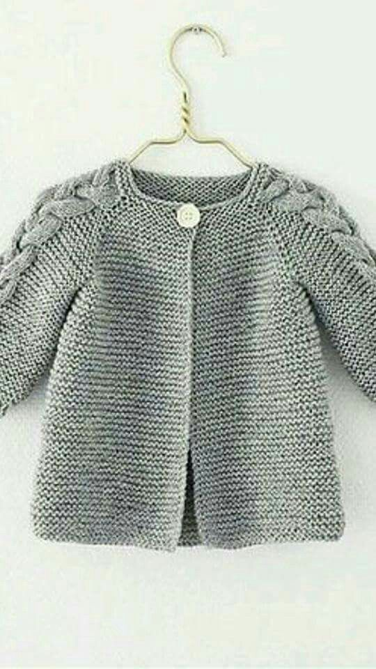 how to knit nordic spring jacket