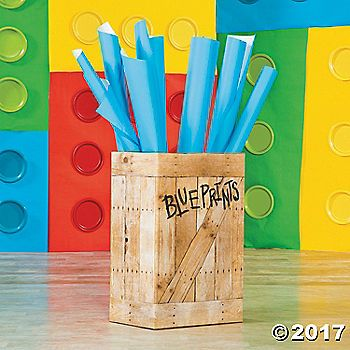 Every good architect needs some blueprints. This Vacation Bible School decorating idea adds a nice touch to the classroom and is a great DIY project that ...