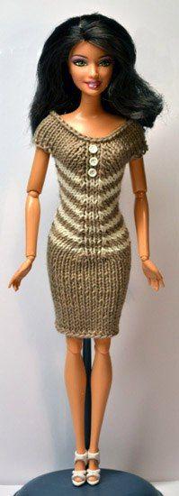 Кукла-Конфетка . Вязанная одежда для кукол.