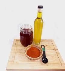 Φυσικο λαδι θεραπευτικο...για πονους αυχενα ,πλατης κτλ ΥΛΙΚΑ 1 φλ. λαδι π.χ. ηλιελαιο ,αμυγδαλου... 1 κ. σ. μπουκοβο(αποξ. καυτερη πιπερια) Αιθερια ελαια Λεβαντας και τσαγιοδεντρου από13 σταγ. το κα