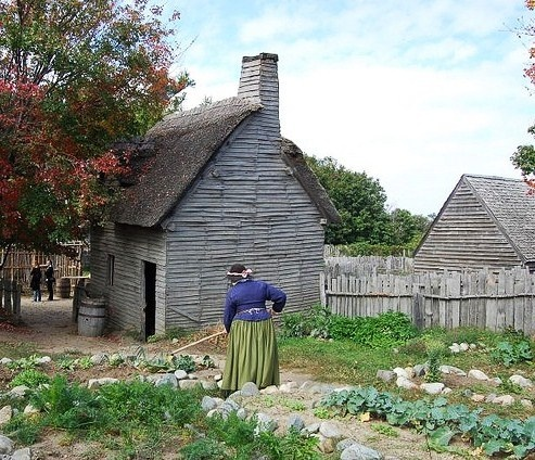 Plimoth Plantation in Plymouth, MA. My daughter still
