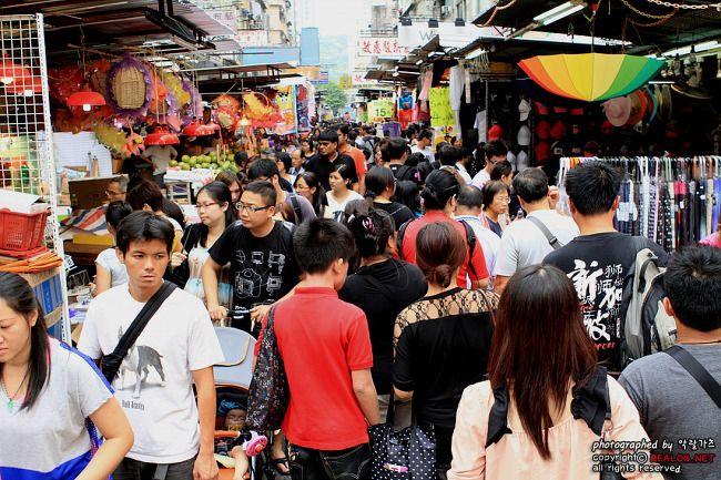 마니아 천국! 핵무기 빼고 다 있는 홍콩 야시장 거리