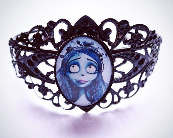 Corpse Bride Bracelet by QueenObsceneDesigns on Etsy