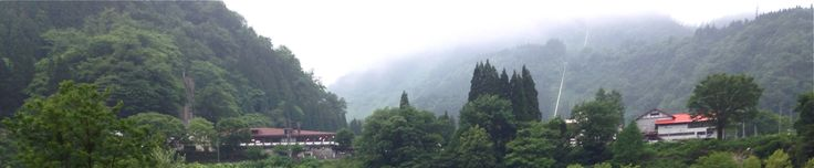 At the foot of Mt.Tateyama,Tateyama-machi,Toyama,Japan 富山県立山町 立山山麓からの風景