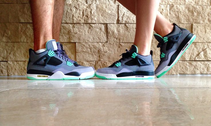 air jordan 4 green glow pas cher