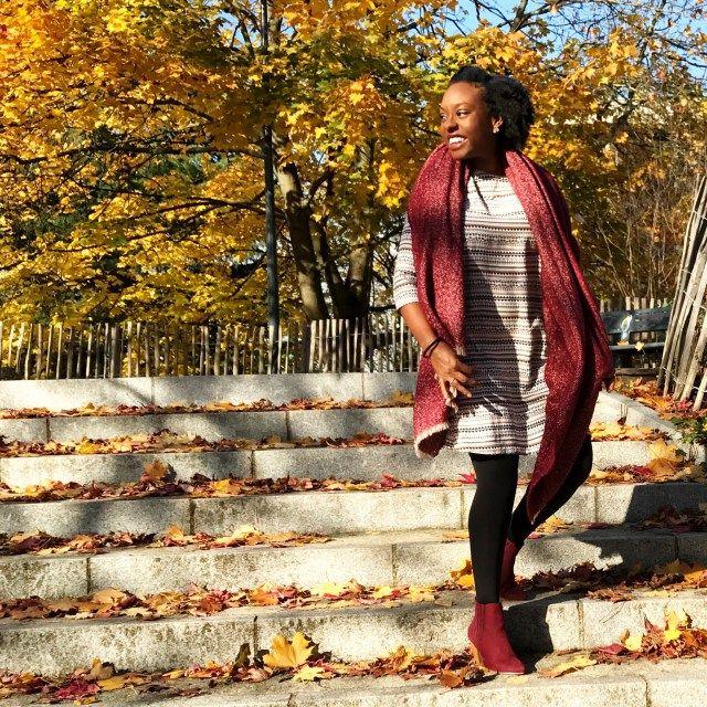 #STYLE : Une belle journée d'Automne - LOOK DU JOUR - Afrolife de Chacha