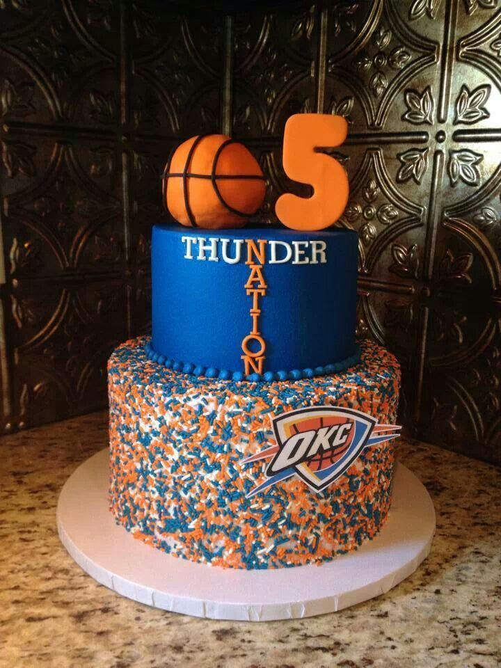17 Best images about Oklahoma City Thunder Basketball on  ~ 152910_Birthday Party Ideas Okc