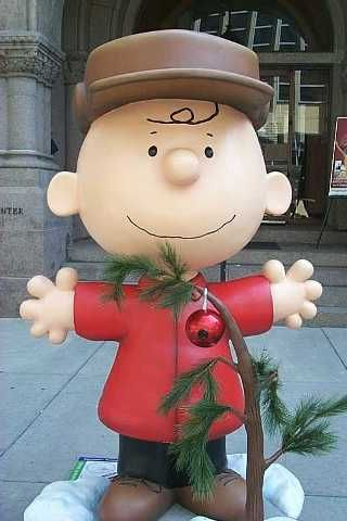 """2001 - Charlie Brown Around Town - St. Paul, MN: """"A Charlie Brown Christmas"""""""