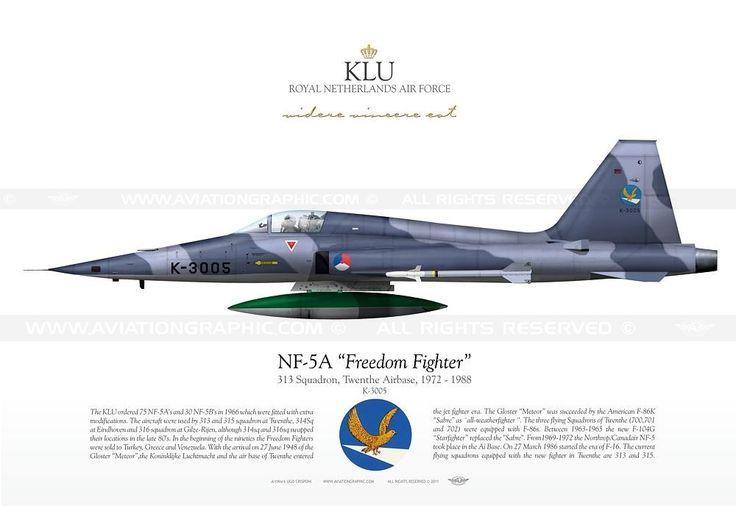 "NF-5A ""Freedom Fighter"" K-3005 KLU JP-0194"