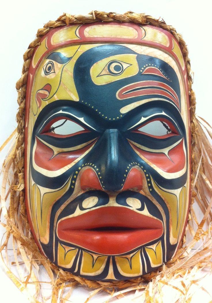 Janice MorinRaven & Sun, Chief mask