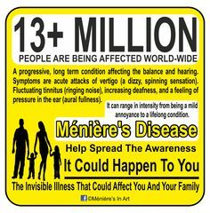 This post is about my take on the treatment options I've tried to manage my Meniere's Diseas
