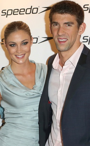 Michael Phelps are new girlfriend Megan Rossee. Sorry ladies!