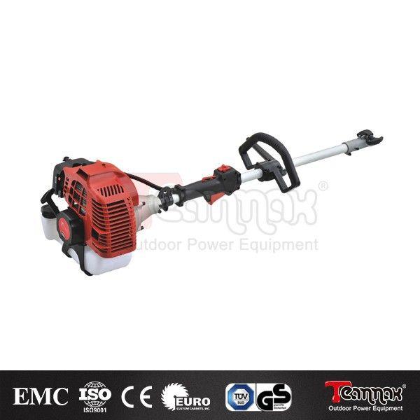 2015 2-stroke pole chain saw hedge trimmer multi garden tool machine