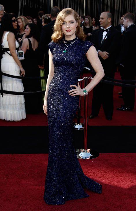 A lovely #Oscars dress. Amy Adams. #Dress  #Fashion