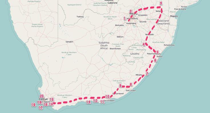Südafrika Roadtrip - auf ins Land der Kontraste