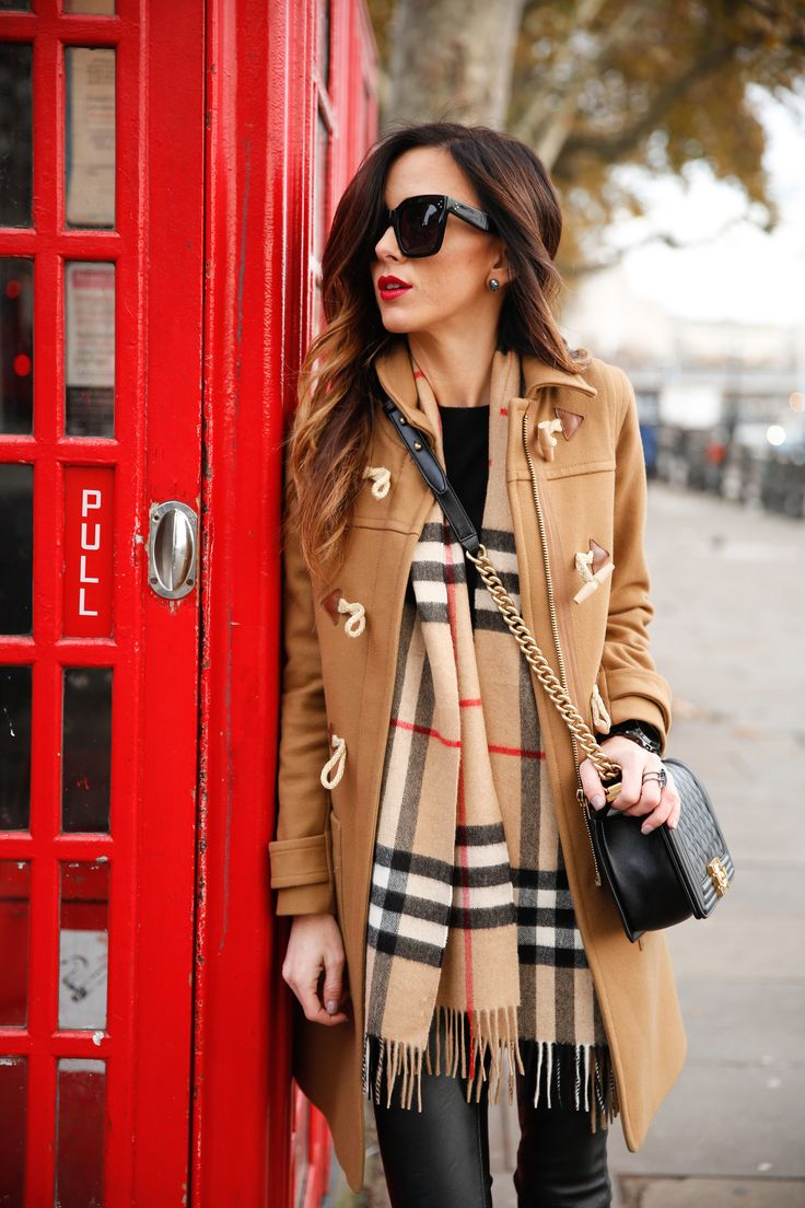 Bundled In Classic Burberry London