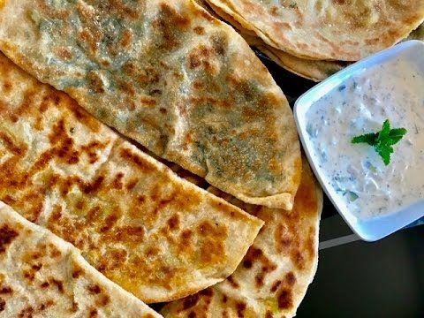Bolani / Perakai  (Flat Bread) recipe - YouTube