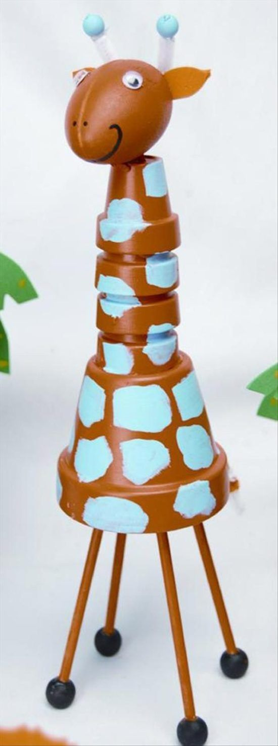 Painted Clay Pot Critters How To Make Them