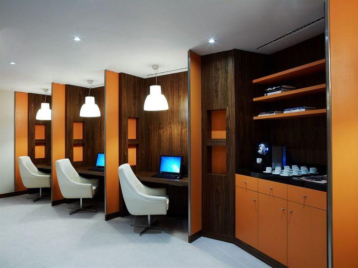 Business Center in the Corinthia Hotel Lisbon, Lisbon, Portugal