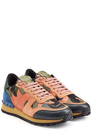 Was Ist Der Coolste Stilbruch In Dieser Saison? Die Camouflage Sneakers Von  Valentino In
