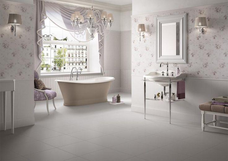 PIASTRELLE ANTHEA, bagno classico ceramica bicottura # ...