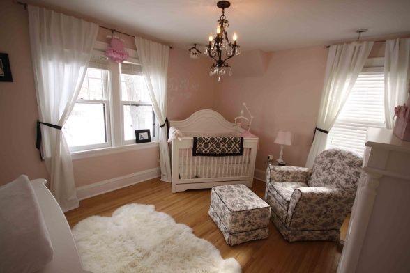 Girl Nurseries, Girls Room, Baby Girls, Pink Wall, Baby Room, Girls Nurseries, Nurseries Ideas, Babies Rooms