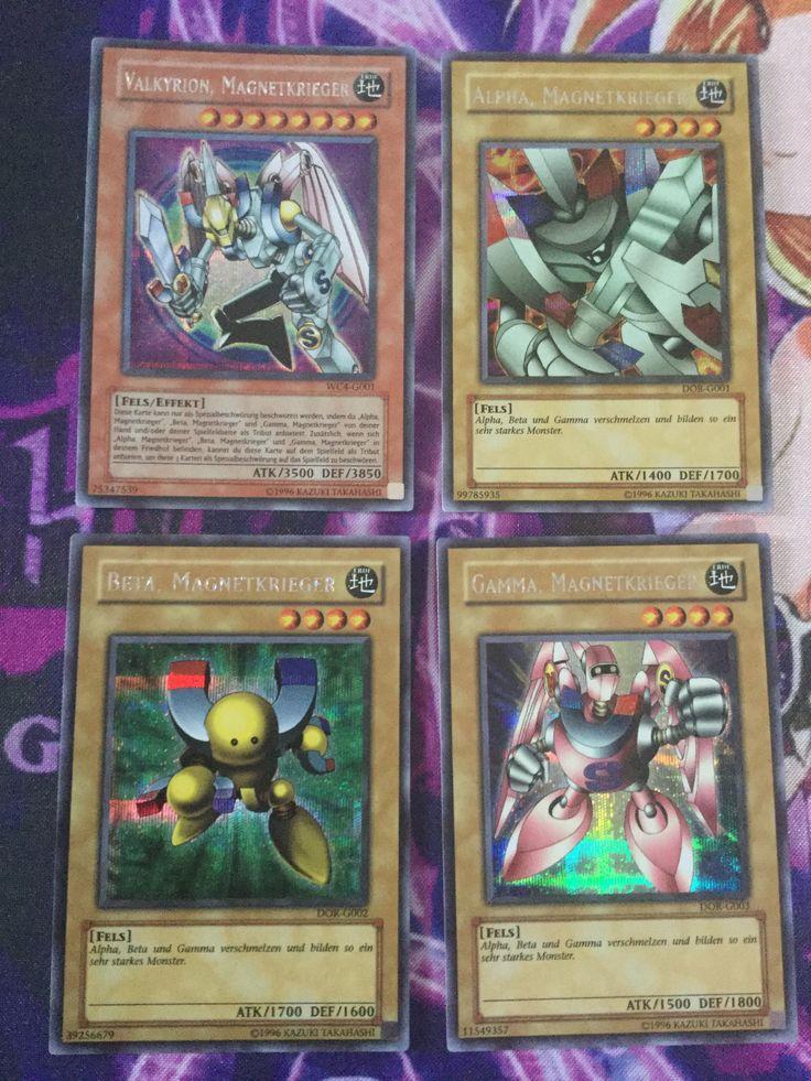 Magnet Warrior Full Set Alpha,Beta,Gamma DOR Valkyrion WC4