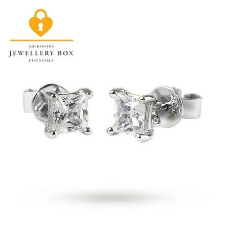 . 25ct diamond studs www.goldsmiths.co.uk