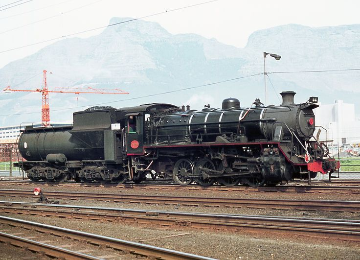 South African Class S2 0-8-0