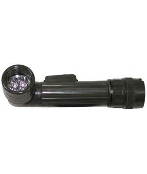 Linterna militar de codo, 4 LED, Mediana