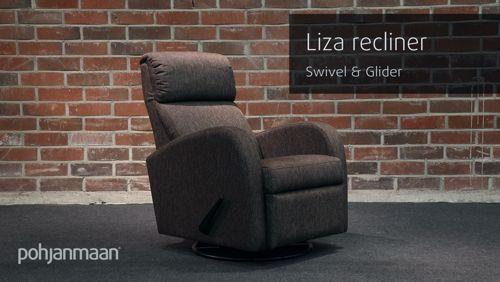 Pohjanmaan Liza reclinerissa rentoutuminen onnistuu, katso vaikka! Jälleenmyyjä: Sotka  #pohjanmaan #pohjanmaankaluste  #koti #olohuone  #recliner #livingroominspo #livingroomdecor https://video.buffer.com/v/599439e03749f4ce18a3ed58