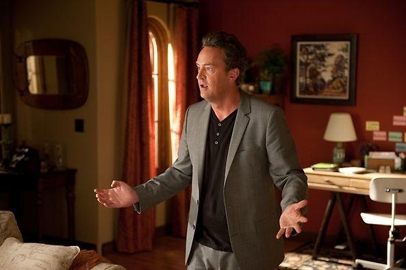 "Matthew Perry as ""Ryan King"" #GoOn"