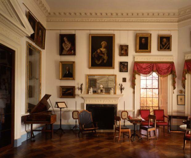 Monticello's Parlor