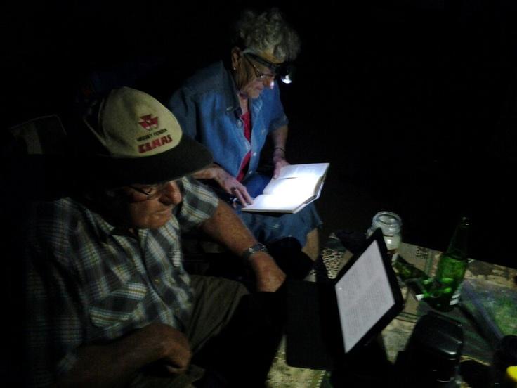 Oupamet apple  ipod en Ouma met miners kop ibook