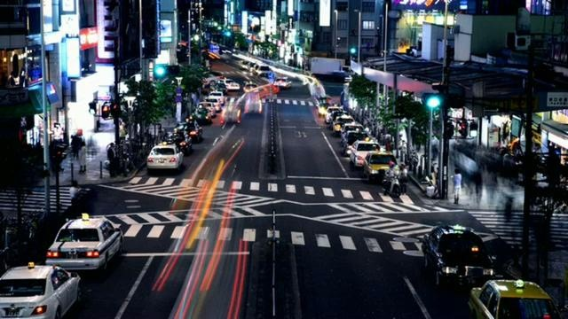 Tokyo/Glow by Nathan Johnston. (HD version: http://vimeo.com/9697968)
