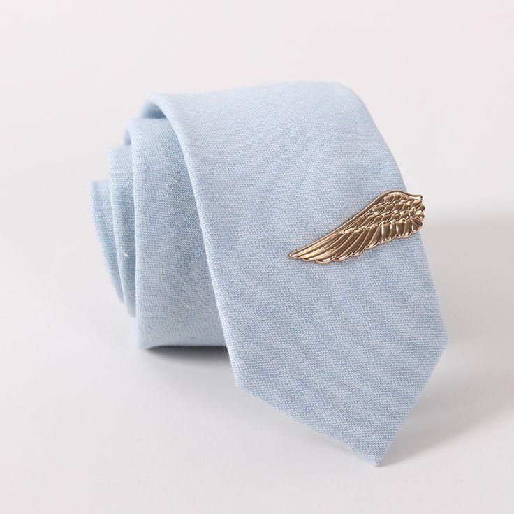 Mdigerブランドファッションメンズスーツ財布クリップネクタイクラスプピンビジネス翼形状金合金メッキネクタイクリップネクタイ用結婚式
