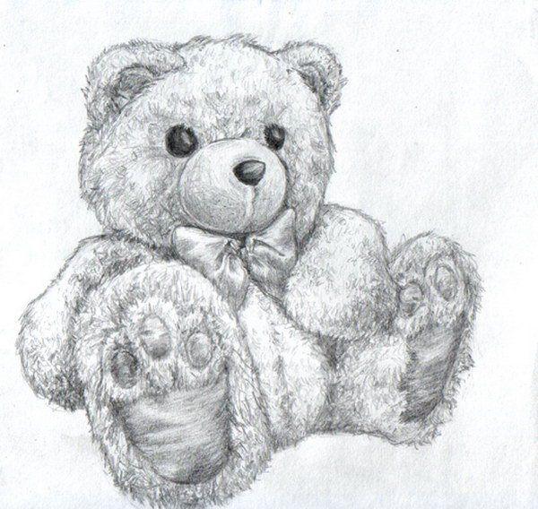 The 25+ best Teddy Bear Drawing ideas on Pinterest   Little girl ...