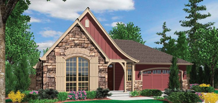 Mascord Plan 1153a The Devereaux Craftsman House Plans