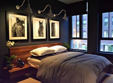 Horse Prints Design, Pictures, Remodel, Decor and Ideas - page 7  Dark  BedroomsMasculine ...