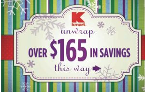 $165 in Kmart Store Coupons Coupon Booklet with Match-ups!
