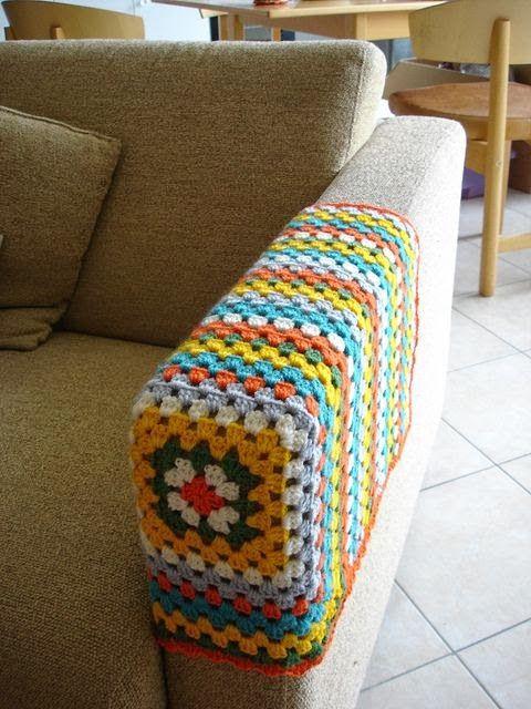 FIFIA CROCHETA blog de crochê : protetor de braço de sofá de crochê
