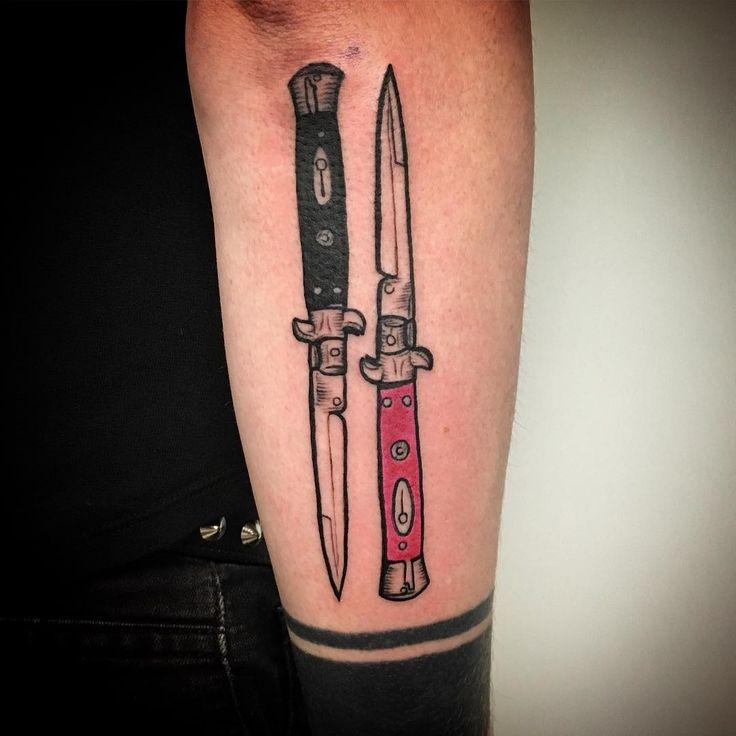 Stiletto Knife Tattoo Designs: 101 Best Tattoo Ideas Images On Pinterest