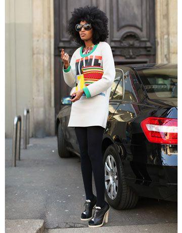 Afro-chic in Milan <3