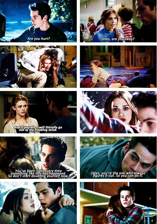 Don't you even frickin DARE to say to me that Stydia is one-sided.