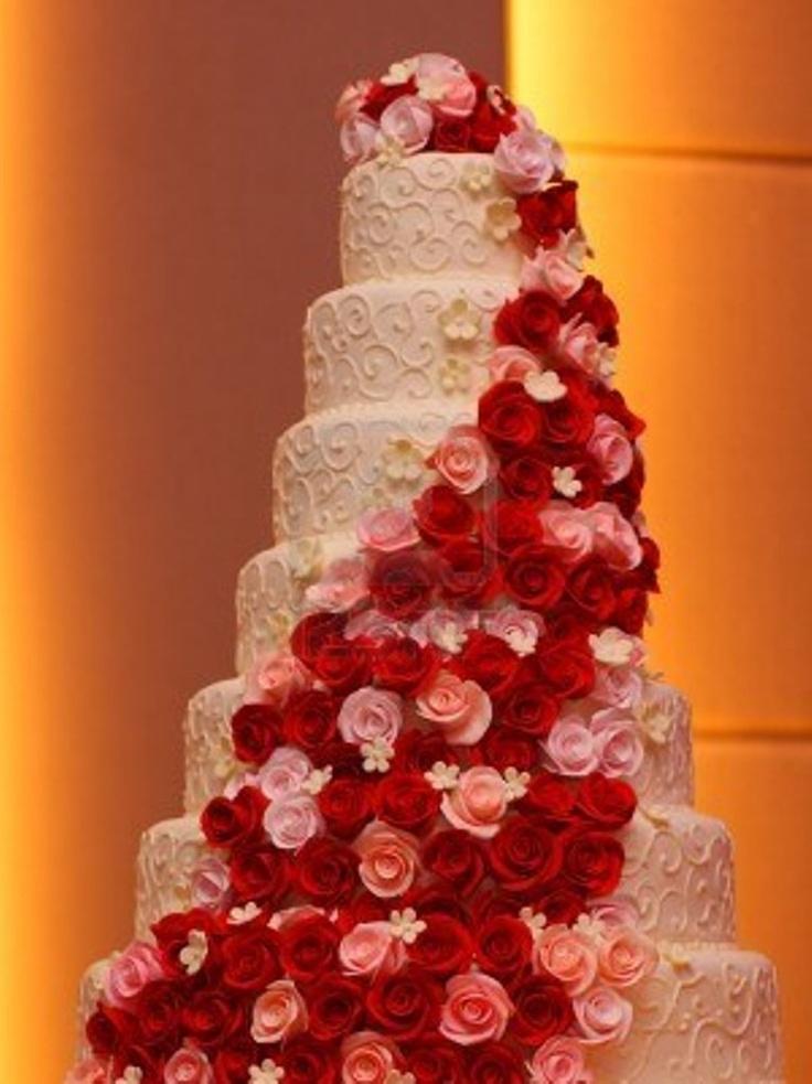 238 best Wedding Cakes Beautiful Cakes images on Pinterest