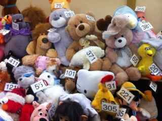Kids Fundraising Idea -Teddy Tombola